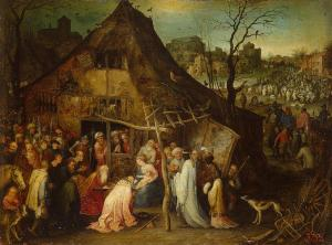 The Adoration of the Magi, Jan Brueghel the Elder (1598)