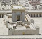 A model depicting the grandeur of Herod's Temple