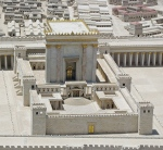 A model depicting the grandeur of Herod's Temple