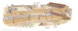 The Temple Mount in Jerusalem at the time of Christ