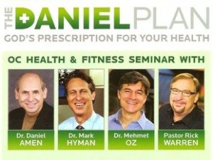 "What better person to come up with a Biblical diet regimen than ""Dr. Amen""?  I can't make this stuff up."