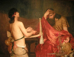 David and Saul, Ernst Josephson (1878)
