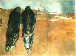 """Emmaus"" (Janet Brooks-Gerloff, 1992)"
