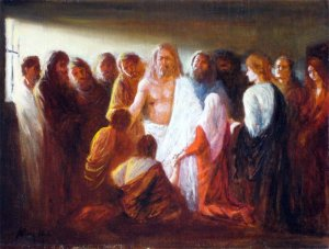 Jesus Appears to the Disciples After the Resurrection (Imre Morocz, 2009)