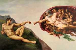 The Creation of Adam, Michelangelo (1511)