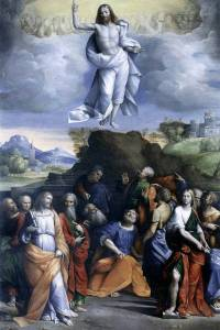 The Ascension of Christ, Benvenuto Tisi (Italian, 1481-1559)