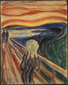 Edvard Munch, The Scream of Nature (1910)