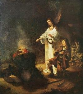 Gideon's Sacrifice, by Gerbrand van den Eeckhout (1621-1674)