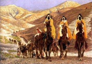 The Journey of the Magi, by James Tissot (c. 1894)