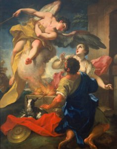 An Angel Promises Manoah's Wife a Son Antonio Balestra (1666-1740)