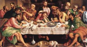 Jacopo Bassano, The Last Supper (1542)