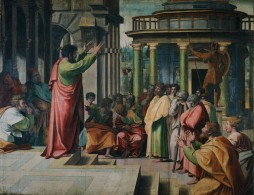 St. Paul Preaching in Athens, by Raphael (c. 1515)