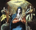 El Greco - The Immaculate Conception Contemplated by Saint John the Evangelist (c.1585)