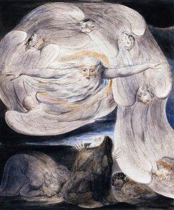God Answers Job, William Blake 1757 – 1827