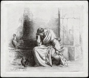 The Repentance of Peter (Carl Bloch, 1834-1890)