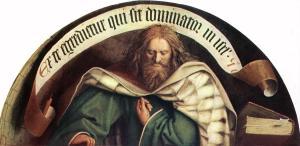 The Ghent Altarpiece (detail), Jan van Eyck (1432)