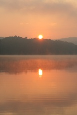 Sunrise at Raystown Lake, PA