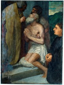 The Confession (1860?) Alphonse Legros
