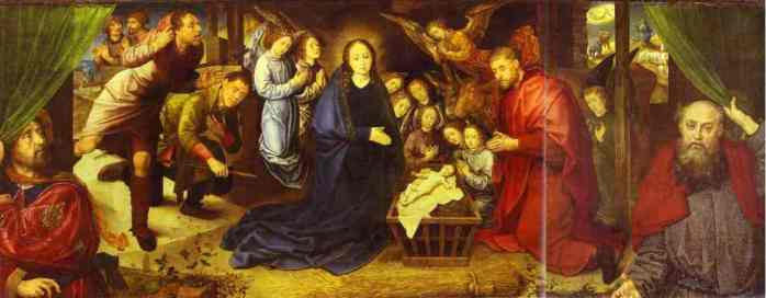 The Adoration of the Shepherds, Hugo van der Goes 1480
