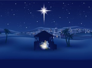 jesus-birth-nativity-star-outside-bethlehem-stable