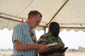 We gathered with a group of about 75 SSPEC pastors, elders, deacons, and women's leaders.  Ken was our preacher for the day.
