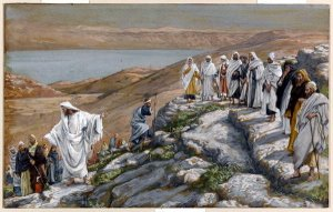 Christ Sends Out the Seventy Disciples Two-By-Two James Tissot, 1836-1902