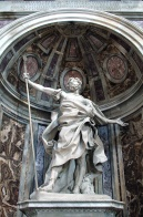 St. Longinus  Bernini, c. 1635 St. Peter's Basilica, The Vatican