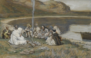 The Meal of Our Lord and the Apostles James Tissot, c. 1890