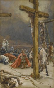 The Confession of St. Longinus, James Tissot c. 1890