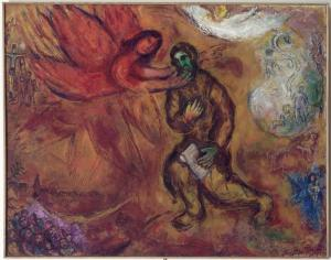 Prophet Isaiah, by Marc Chagall (1968)