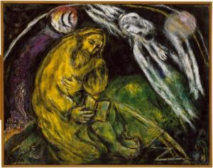 The Prophet Jeremiah, Marc Chagall (1968)