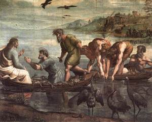 The Miraculous Draught of Fishes, by Raphael (1515)