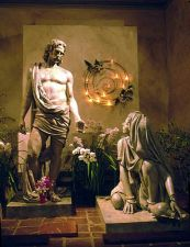 Jesus With Mary Magdalene Bruce Wolfe Contemporary Used by Permission http://www.brucewolfe.com/sculpture/liturgical/