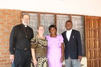 Johnson and Charity Damelakani, our hosts in Ntaja, my colleague in ministry, and our friends.
