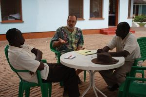 Pastor Angelo and Elder Daniel get a review of the Partnership.