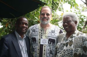 Davies Lanjesi and Silas Ncozana, representing the present and past of the partnership.