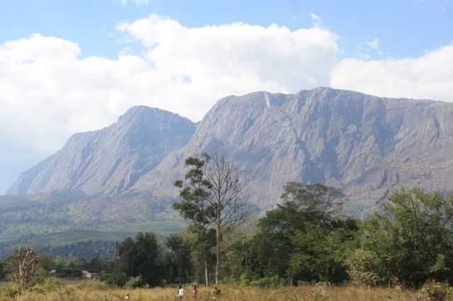Did I mention that all of this happened in the shadow of Mt. Mulanje, the 3rd-highest peak in all of Africa?  Beauty indeed!