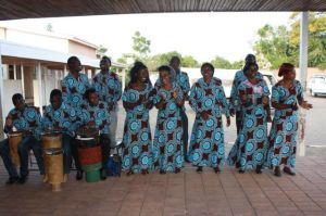 The choir from Limbe CCAP led the welcoming!