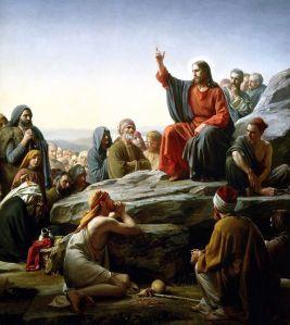 Sermon on the Mount, Carl Bloch, 1877