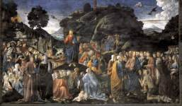 Sermon on the Mount by Cosimo Rosselli, 1481-82