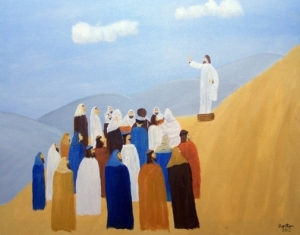 Sermon on the Mount by Horton Young, 2012 Used by permission of the artist.