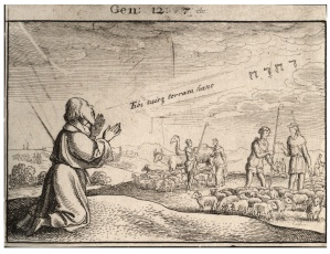 Wenceslaus Hollar (1607-1677), God's Promise to Abraham