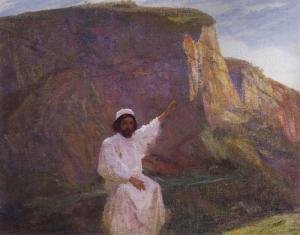 Palestine: Sermon on the Mount, Vasily Polenov (1900)