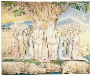 Job and His Family, William Blake (1805-1810)