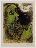 Job Praying, Marc Chagall 1960