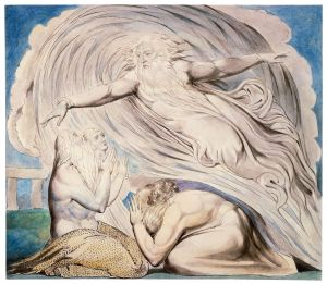 The Lord Answering Job Out of the Whirlwind, William Blake, 1805