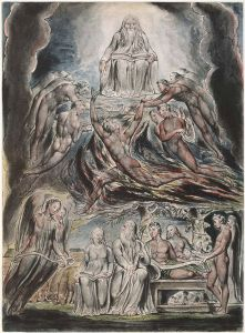 Satan Before the Throne Of God (William Blake, 1825)