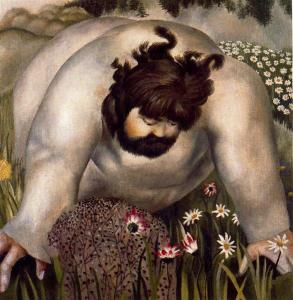 Christ in the Wilderness: Consider the Lilies, Stanley Spencer, 1939
