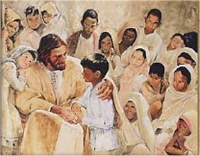 """Jesus and the Children of the World"", Richard  Hook (1965)"
