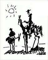 Don Quixote, Pablo Picasso (1955)